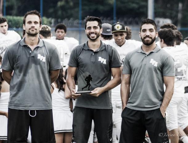 Coaches Mamão, Dutton e Saraiva/ Reprodução RFA