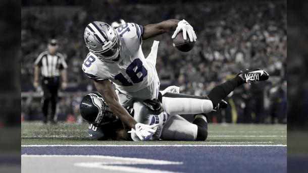 Randall Cobb es un gran receptor de slot (foto Cowboys.com)