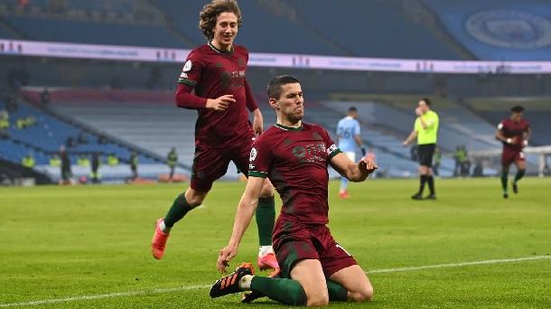 Cody celebrando el 1-1 / FOTO: Premier League