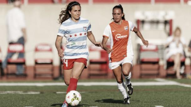 NWSL Rookie of the year Danielle Colaprico has impressed with the Chicago Red Stars this season (chicagoredstars.com)