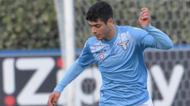 Edoardo Collarino, attaccante della Lazio primavera