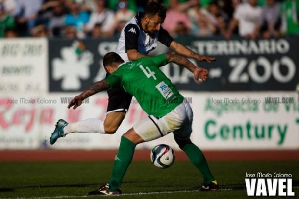 Imagen del Mérida 0-1 Villanovense. | Foto: José María Colomo (VAVEL)