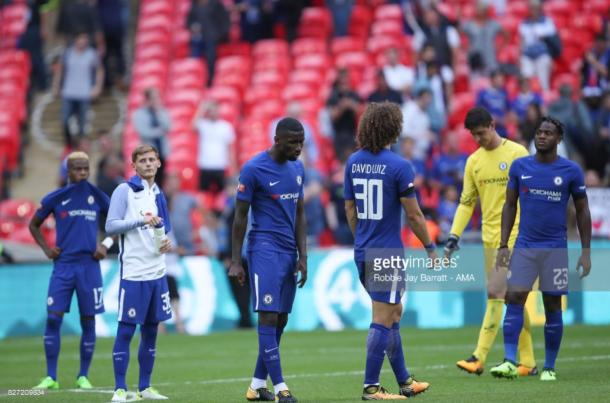 The Blues lost out yet again in the Community Shield to Arsenal | Photo: Getty/ Robbie Jay Barratt - AMA