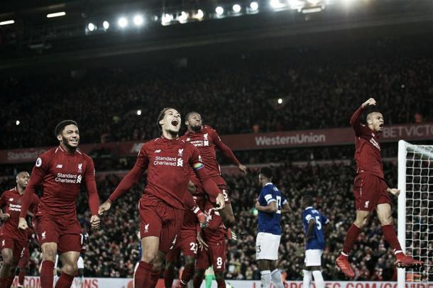Time do Liverpool vem encantando nessa temporada (Reprodução/Liverpool)