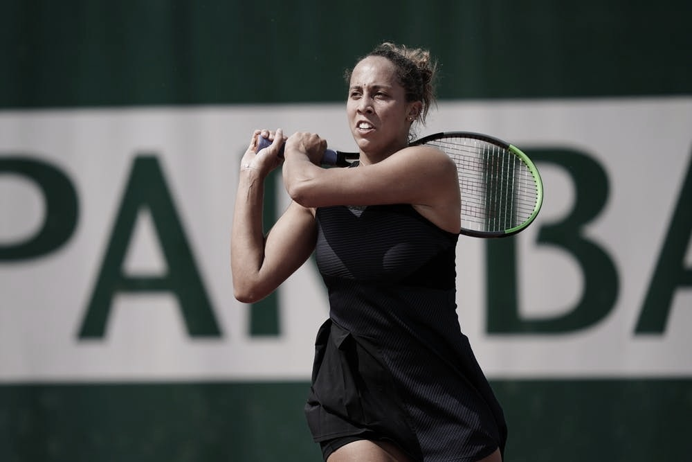 Madison Keys será rival de Victoria Azarenka en tercera ronda foto Cédric Lecocq/FFT