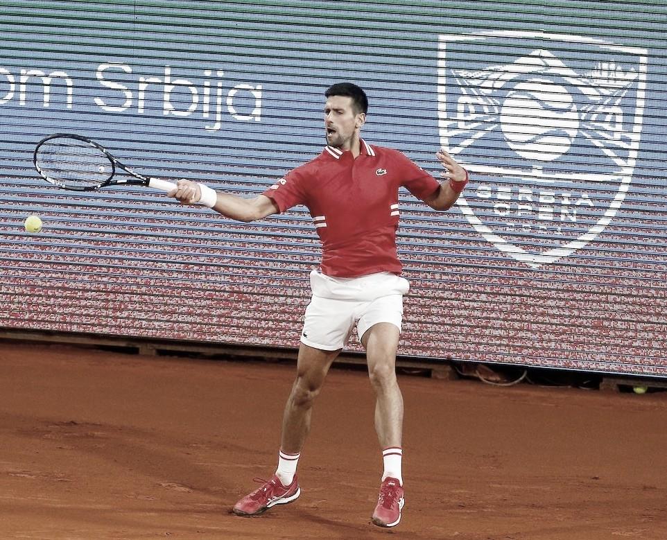 Novak Djokovic, número uno del mundo. Foto  @SerbiaOpen2021