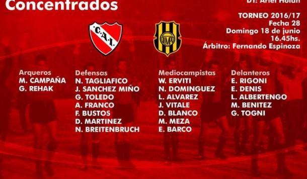 Independiente no pudo con Olimpo y Defensa goleó a los tucumanos