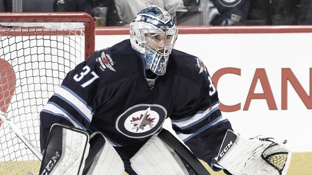 El Connor de los Jets no mete goles, los evita | Foto: NHL.com
