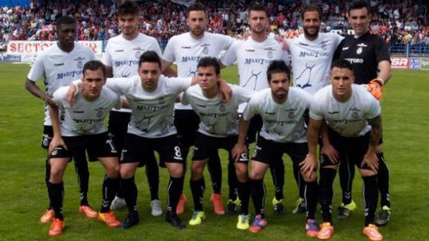 Once del Conquense en un partido de playoff de ascenso a Segunda (fuente ABC.es)