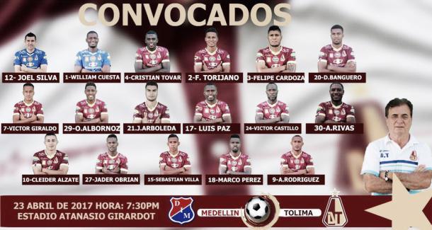 Fotomontaje: Club Deportes Tolima