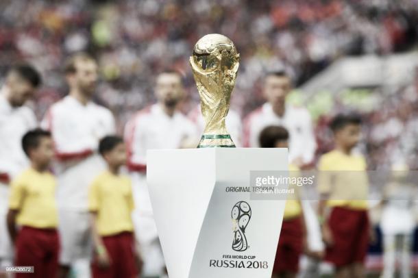El trofeo mundialista finalmente fue para la selección francesa / Fuente: Getty Images