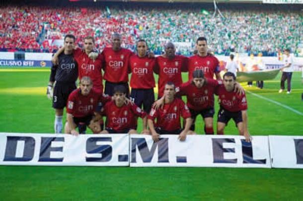 Once inicial que disputó la final de Copa del Rey.