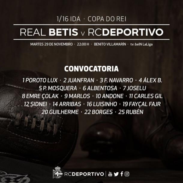 Imagen: Real Club Deportivo