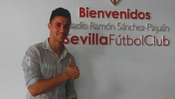 Corchia é do Sevilla | Foto: Divulgação/Sevilla FC