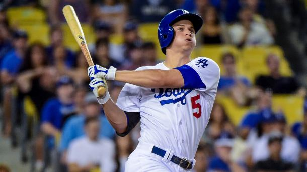 Seager currently leads the Los Angeles Dodgers in batting average, home runs and runs batted in | USA TODA Sports