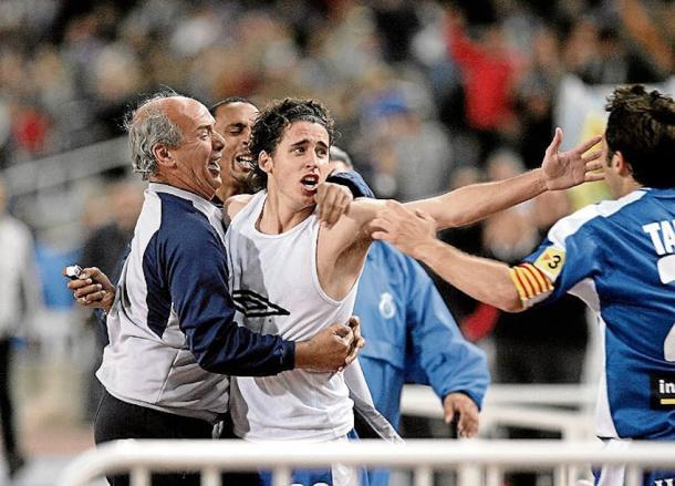 Coro evitó en el último suspiro el descenso del Espanyol   Foto: RCD Espanyol.