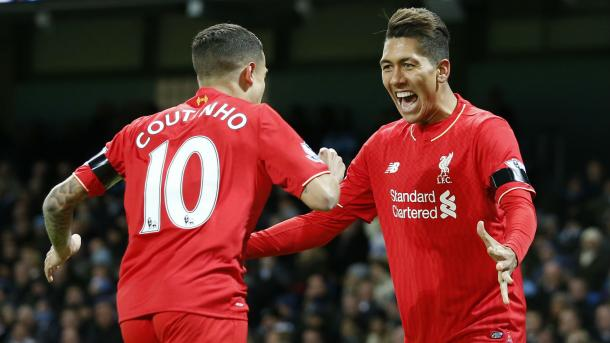 It's unlikely that Coutinho and Firmino will lose their places next season (photo: getty)