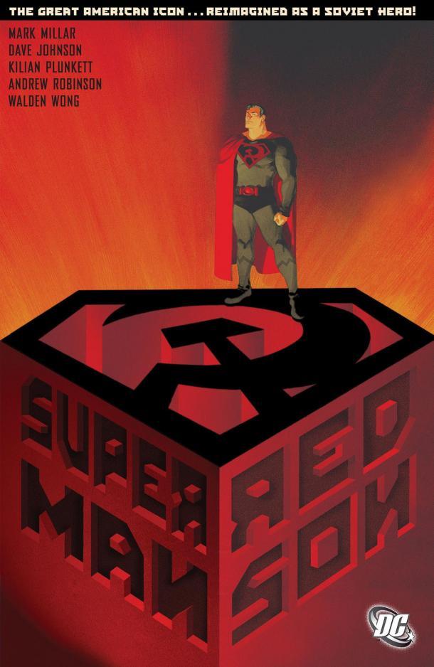 Arte de la portada de Superman: Red Son TPB