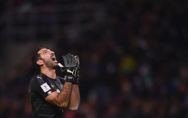 La disperazione di Buffon (Fonte foto: Nazionale Italiana di Calcio)