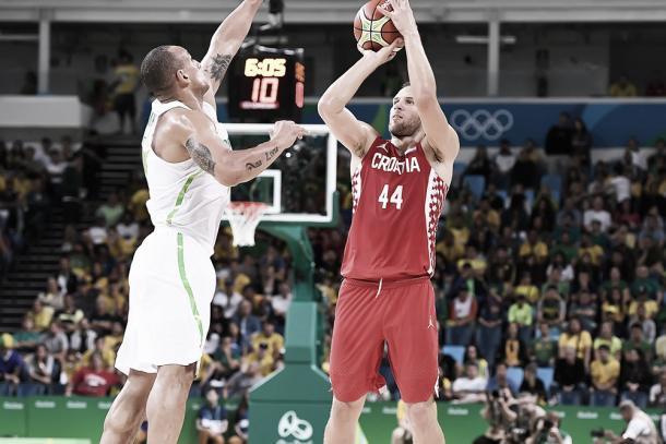 Bogdanovic en Río de Janeiro 2016. Foto: FIBA