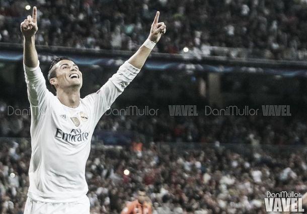 Cristiano Ronaldo celebrando un gol Fotografía Dani Mullor VAVEL