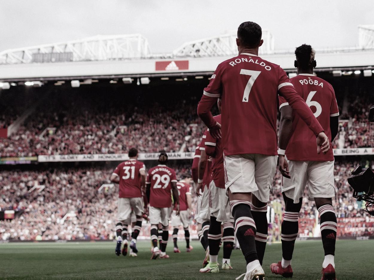 CR7 está de regreso   Foto: Manchester United