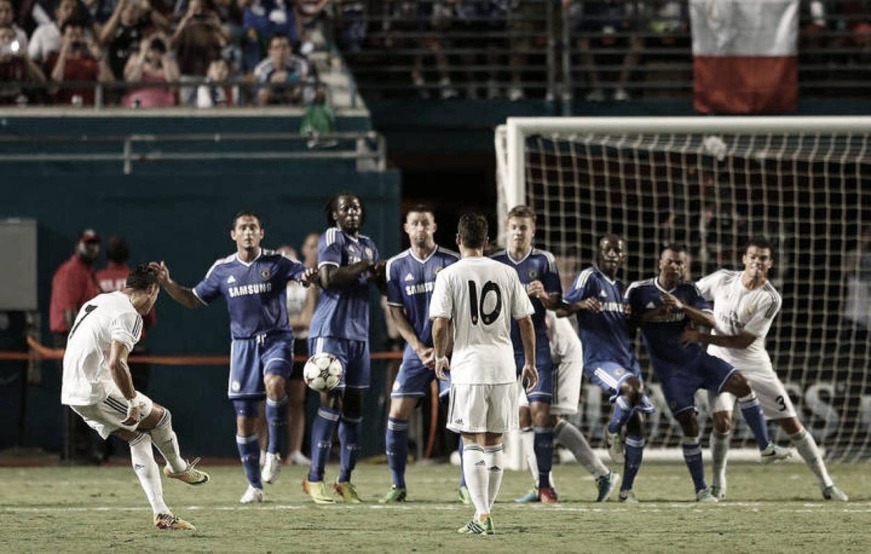 Cristiano Ronaldo dio su show en el rostro de Mourinho | Foto: Real Madrid