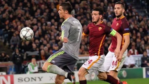 Cristiano Ronaldo in gol nella sfida dell'Olimpico | Getty Image