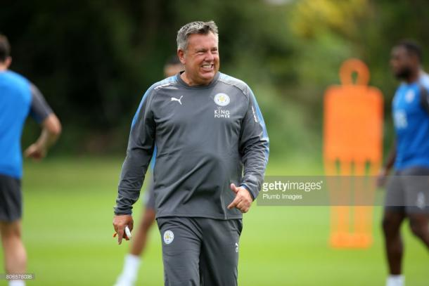 Craig Shakespeare kicks off his first full season as a Premier League manager with a trip to the Emirates | Photo: Getty/ Plumb Images