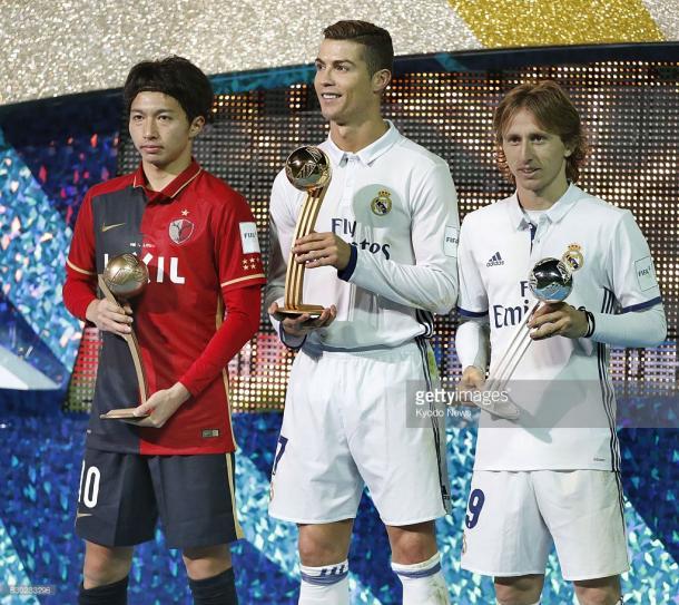 Cristiano Ronaldo fue elegido como mejor jugador del torneo / Foto: gettyimages