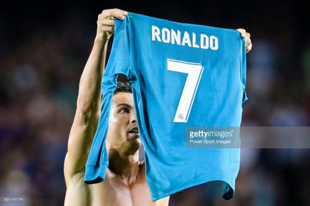 Cristiano Ronaldo, visto y no visto en la Supercopa de España / Foto: gettyimages