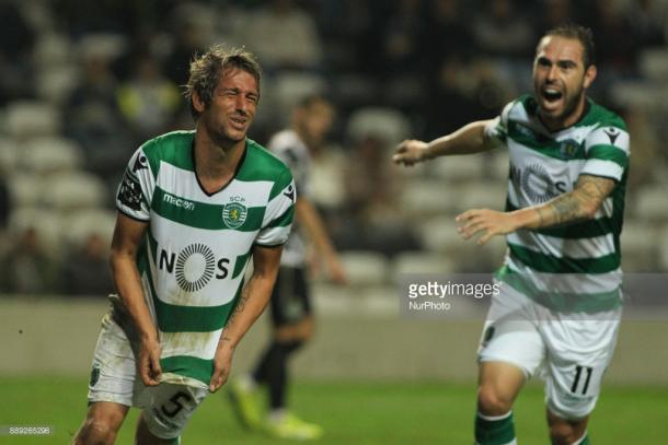 Coentrao tras anotar su gol / Foto: gettyimages