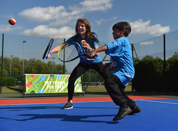 Annabel Croft Is A Keen Supporter Of Getting The Younger Generation Playing Tennis. Photo: Christopher Lee/Getty Images