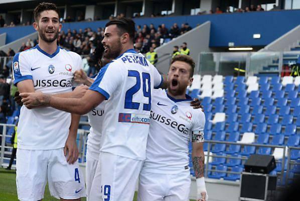 Gomez sigla il 3-0 sul Sassuolo. | gazzettadiparma.com.