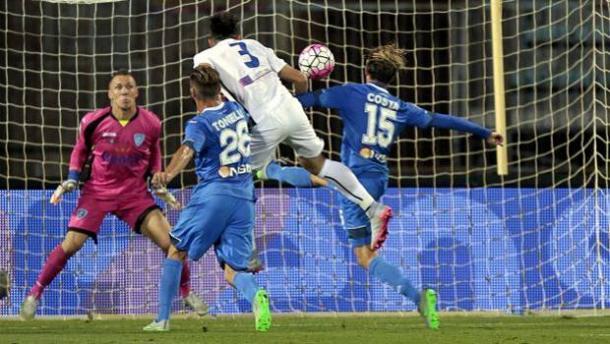 Toloi firma lo 0-1 nel match d'andata dello scorso anno. | gazzettaobjects.it