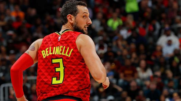Marco Belinelli's experience and shooting ability will be key to the Sixers' cause. Photo: Getty Images