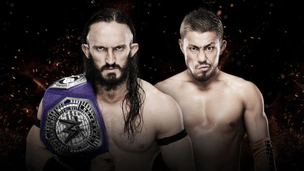 Can Tozawa dethrone the king? Photo-WWE.com