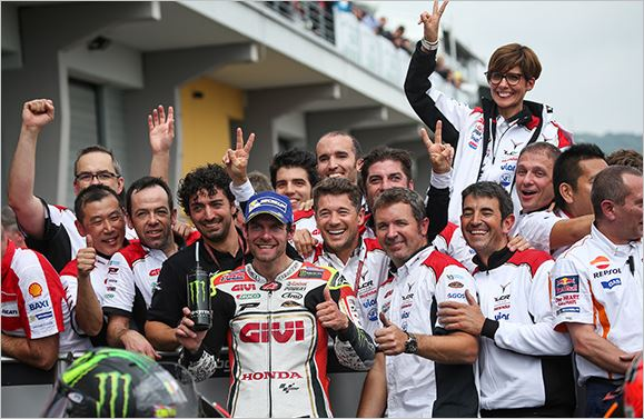 Second in the Sachsenring for Crutchlow and LCR Honda - www.automobilsport.com