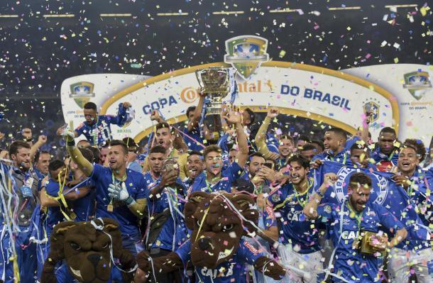Cruzeiro conquistou seu quinto título da Copa do Brasil (Foto: Cristiane Mattos / Light Press / Cruzeiro)