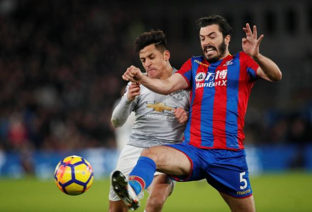 Un duello del match / Crystal Palace Twitter