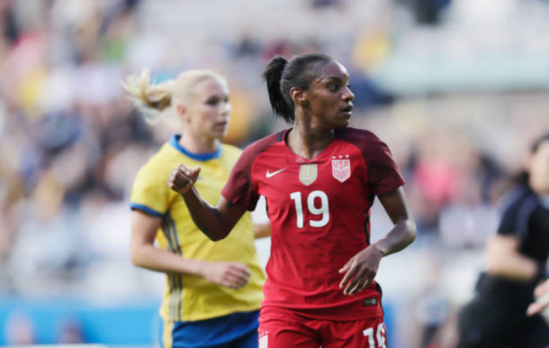 Forward Crystal Dunn is joining the Courage after one season in England with Chelsea LFC. | Photo: Nils Petter Nilsson - Ombrello/Getty Images