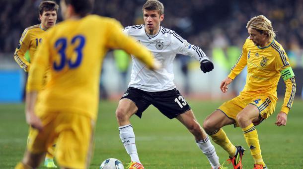 Thomas Mueller - Ukraine | Photo: Deutscher Fussball-Bund