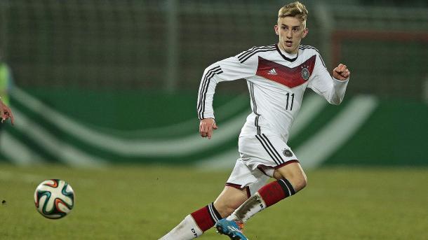 Sinan Kurt im Trikot der U19-Nationalmannschaft. (Quelle: Getty Images)