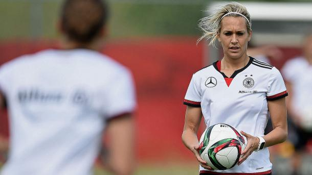 Lena Goeßling had a good outing for Germany tonight | Source: dfb.de
