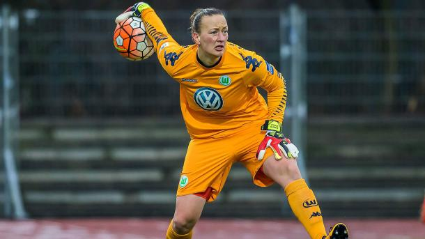 Almuth Schult will want to be the hero this time around | Source: dfb.de