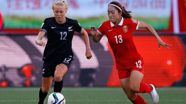 Hassett has experience at international level that she can bring to the team. | Photo: DFB