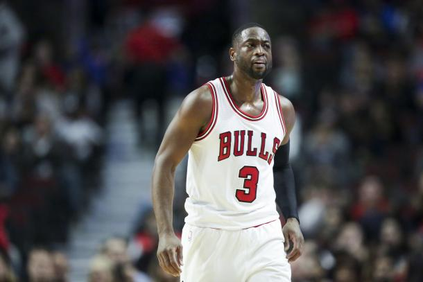 Dwyane Wade decided to leave his second home in Miami for Chicago as Heat President Pat Riley stalled talks with the three-time NBA champion. Photo: K.C. Johnson/Chicago Tribune