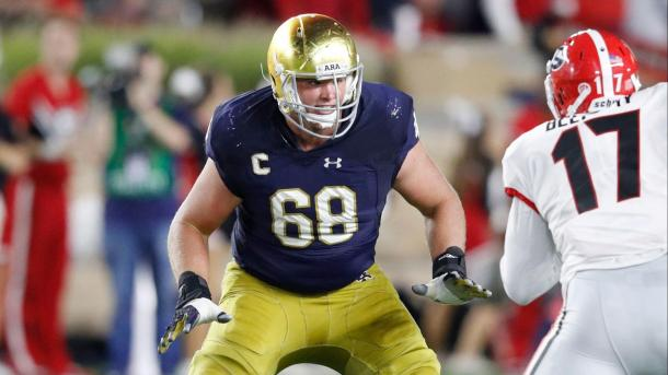 McGlinchey could be the first pick for the Patriots this year | Source: chicagotribune.com