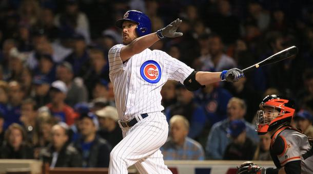Travis Wood homers in game 2 of the 2016 NLDS againt the San Francisco Giants - Sports Illustrated