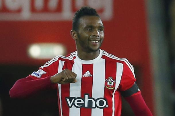 Cuco Martina celebrates a wondergoal for Southampton against Arsenal | Photo: The Sun